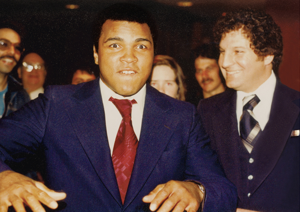 Muhammad Ali with Auhtor Anrold Beizer
