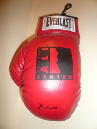 Muhammad Ali Boxing Glove Ali Center