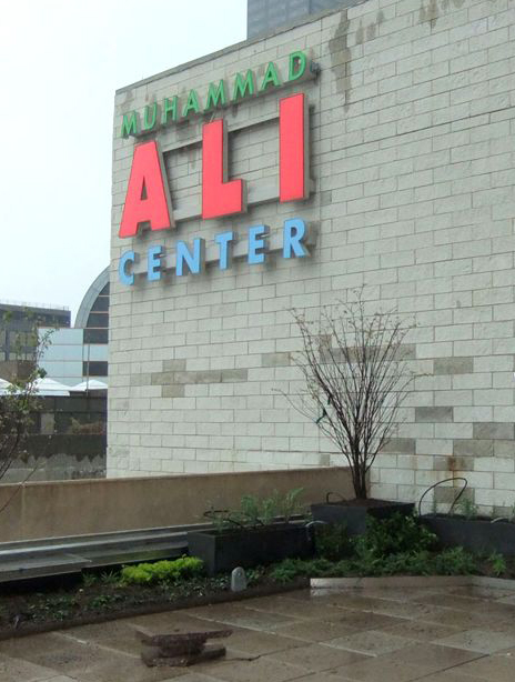 Muhammad Ali Center Sign