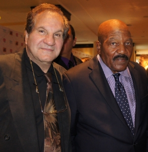 Jim Brown and Arnold Beizer