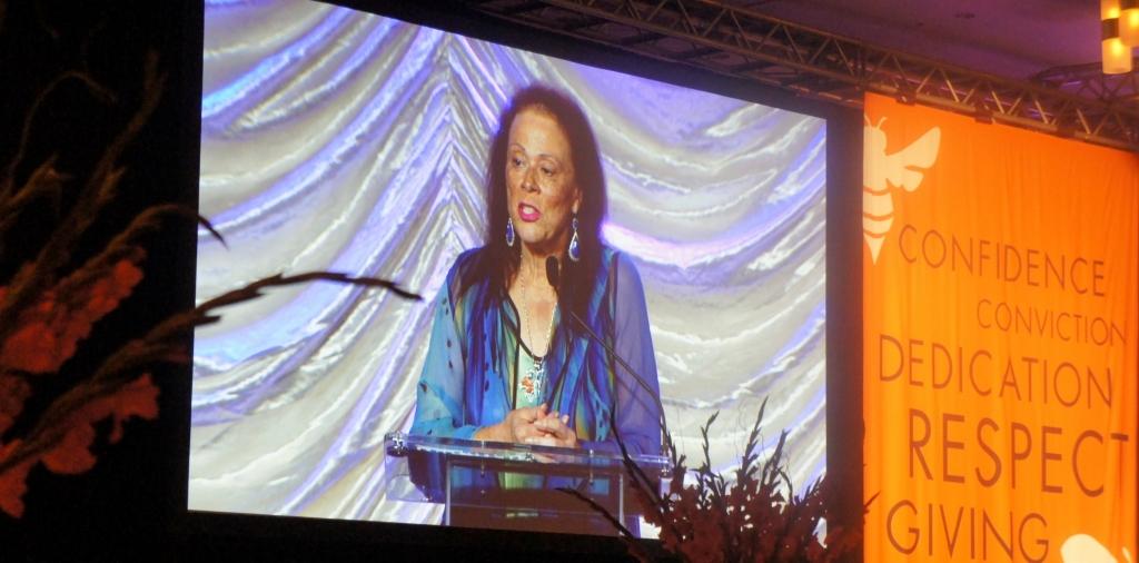 Lonnie Ali remarks at Muhammad Ali Humanitarian Awards Ceremony