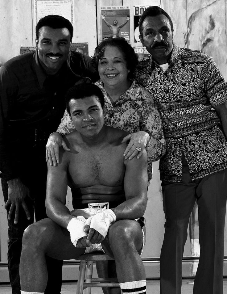 Ali with his Family