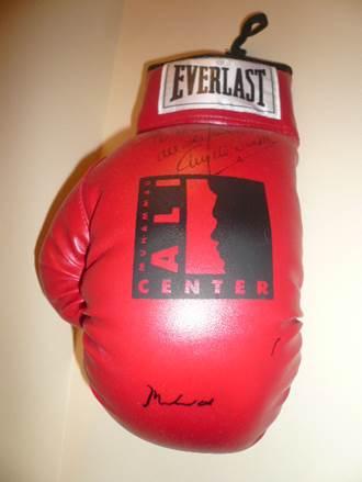 Muhammad Ali Boxing Glove Ali Center